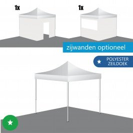 Vouwtent 3x3 ECO-STAAL